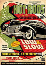 Hot Rod Sonderaustellung Essen Motor Show