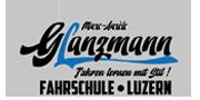 Fahrschule Glanzmann  Logo und Web Design by Flying Piston Studios
