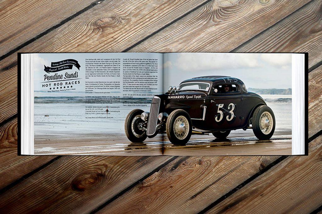 Smokin Shutdown Hot Rod Yearbook by Flying Piston Studios
